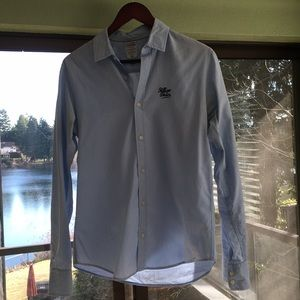 Baby Blue Hilfiger Denim dress shirt